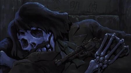 ルパン三世 カリオストロの城 地下迷宮の白骨化死体 河上源之助の銃は26年式拳銃