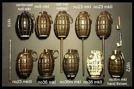 ルパン三世 カリオストロの城 峰不二子のミルズ型手榴弾 マークⅡ手榴弾?