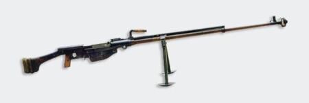 ルパン三世 カリオストロの城 次元の対戦車ライフルはシモノフPTRS-41