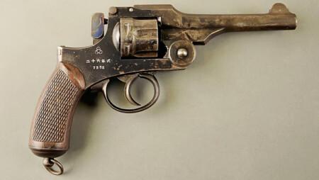 ルパン三世 カリオストロの城 河上源之助の銃は26年式拳銃