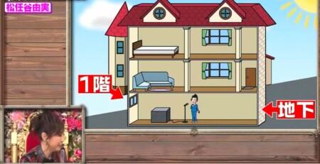 櫻井・有吉THE夜会 ユーミンの自宅は地下部分を合わせると3階建て