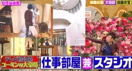 櫻井・有吉THE夜会 ユーミンの自宅写真 仕事部屋兼スタジオ