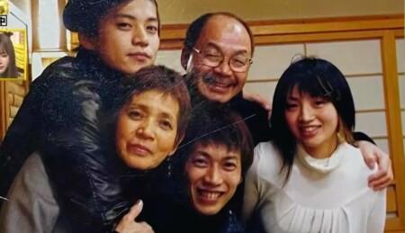 深イイ話 小栗旬の一家集合、小栗家の家族集合写真