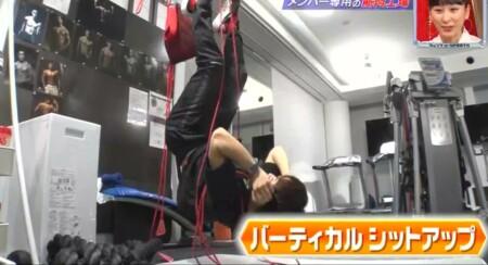 EXILE NAOTO 腹筋トレーニングはバーティカルシットアップで鍛える