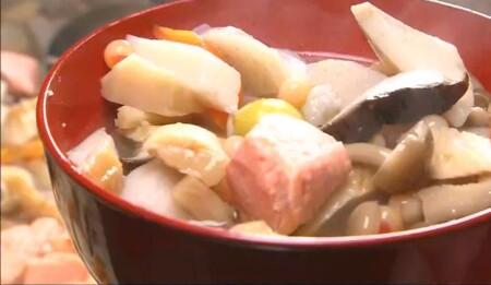 ケンミンショー 全国汁物ランキングベスト10&簡単レシピは?第5位 のっぺ汁 新潟県