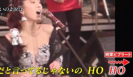 プロボイストレーナーが選ぶ最も歌がうまい歌姫ランキングベスト15 第5位 中森明菜 明菜ビブラート