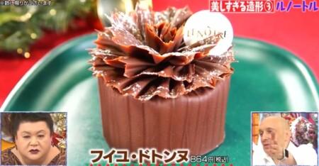マツコの知らない世界 チョコレートケーキの世界で4ジャンル別紹介の全12品+おまけ1品は?ルノートル