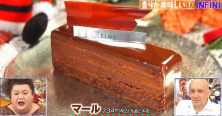 マツコの知らない世界 チョコレートケーキの世界で4ジャンル別紹介の全12品+おまけ1品は?INFINI