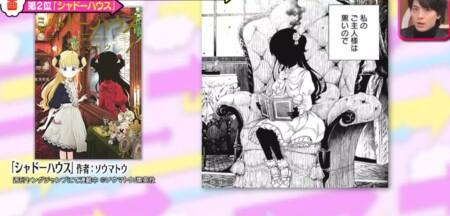 メレンゲの気持ち 漫画オタク高杉真宙のおすすめ漫画ベスト3作品は?第2位 シャドーハウス