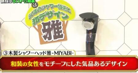 櫻井・有吉THE夜会 登場のシャワーヘッド5種類&櫻井翔が大野智の誕生日プレゼントに買ったのは?木製シャワー 雅