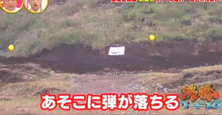沸騰ワード カズレーザー自衛隊裏側潜入!東富士演習場「新山吹」編 200m先に弾着