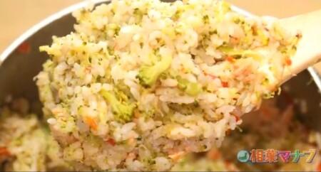 相葉マナブ 第14回釜飯グランプリのレシピ全6種類 丸ごとブロッコリー釜飯 ホクホクのブロッコリー