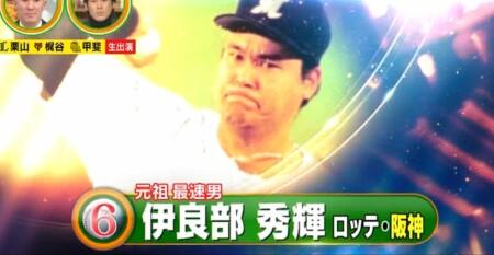 12球団現役選手&OBが選ぶ史上最強の速球派投手ランキングベスト50 第6位 伊良部秀輝