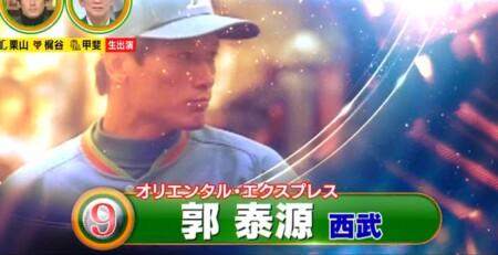 12球団現役選手&OBが選ぶ史上最強の速球派投手ランキングベスト50 第9位 郭泰源