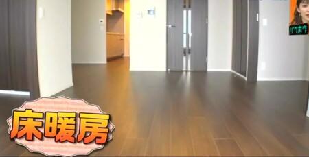 EXIT 兼近の家の引っ越し先家賃がすごい!自宅をテレビ初公開 床暖房完備