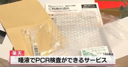 WBS ワールドビジネスサテライト PCR検査費用が自費で受けても安いのはなぜ?楽天のPCR検査