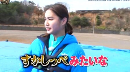 イッテQ 出川ガール新メンバー箭内夢菜の愛称「夢っぺ」 すかしっぺみたいな