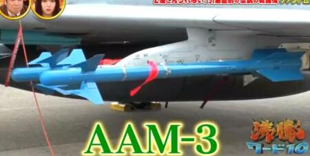 沸騰ワード カズレーザーが航空自衛隊で戦闘機F4ファントム搭乗 90式空対空誘導弾AAM-3