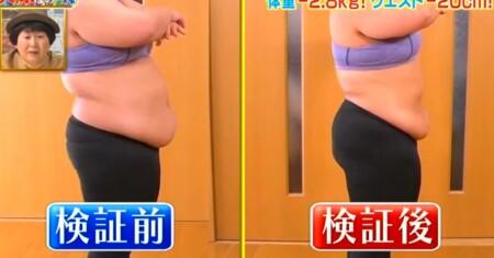 それって実際どうなの課 バランスボール椅子のダイエット効果は?ビフォーアフター 餅田コシヒカリの横から比較