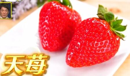 ザワつく金曜日 紹介されたお取り寄せ最高級イチゴ3種類 天苺