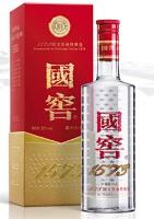 全豪オープンの会場スポンサーにある「國窖1573」は中国の高級酒の名前