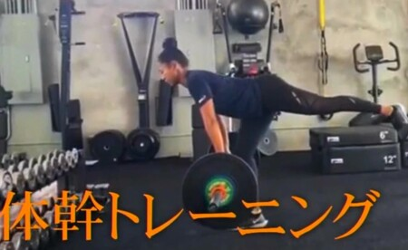 大坂なおみコーチ陣の日本人トレーナー中村豊の体幹トレーニング内容は?シングルレッグデッドリフト