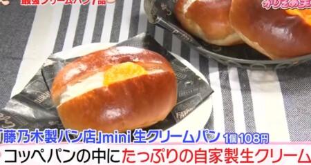 かりそめ天国 オカリナがマツコに紹介したクリームパンランキング 藤乃木製パン店
