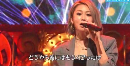 アニソンバトルBEST20 出演者生ライブ 倖田來未 Blue Velvet