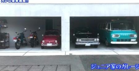 アメトーク旧車芸人 千原ジュニアの自宅ガレージ写真