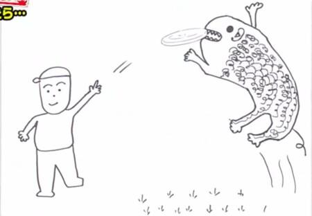 アメトーーク 絵心ない芸人2021出演メンバー・お題・画像を総まとめ。マエケンのフリスビーキャッチ犬