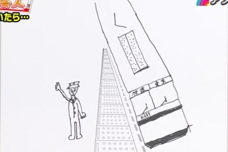 アメトーーク 絵心ない芸人2021出演メンバー・お題・画像を総まとめ。中川家礼二の車掌