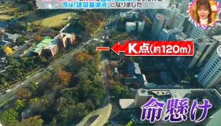 スキージャンプのK点の意味は?ラージヒルのスタート地点を東京タワーで例えると?チコちゃんに叱られる