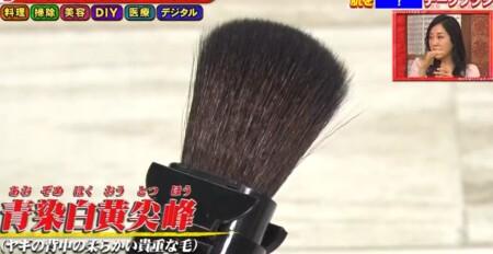 ホンマでっか 紹介された家庭でも使えるプロ仕様業務用グッズど全14種 宮川刷毛ブラシ製作所 チークブラシ