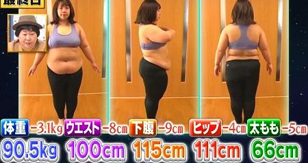それって実際どうなの課 ビニールボールダイエットのダイエット効果は?餅田コシヒカリ最終結果