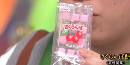 アメトーーク 駄菓子大好き芸人で話題になったお菓子一覧。さくらんぼ餅