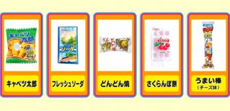 アメトーーク 駄菓子大好き芸人の出演者&話題になったお菓子一覧。ザ・センス100 フジモンの100円買い物リスト