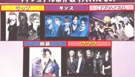 マツコの知らない世界 ヴィジュアル系バンドの世界で紹介された新旧バンド一覧 他ジャンル融合型