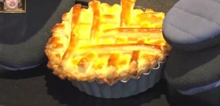 今夜くらべてみました ぼる塾田辺の名探偵コナンのレモンパイ再現レシピの作り方 焼き上がり