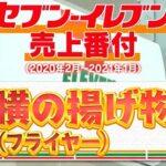 林修のニッポンドリル 2021年版セブンイレブン レジ横揚げ物の売上ランキングベスト10&人気No.1は?