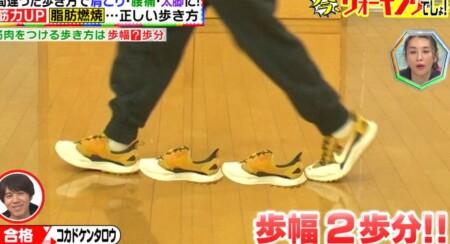 林修の今でしょ講座 ウォーキングの効果的な歩き方や時間は?歩幅は2歩分