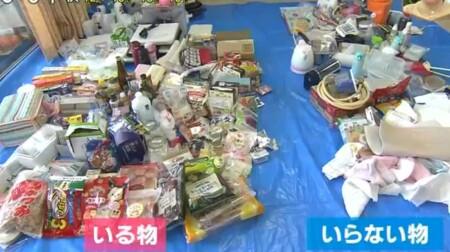 NHKあさイチ 3日間で完成!二度と散らからない・リバウンドしない片付け術のやり方は?2日目キッチンの仕分け結果