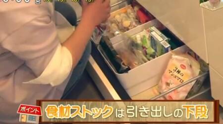 NHKあさイチ 3日間で完成!二度と散らからない・リバウンドしない片付け術のやり方は?2日目キッチン ストックは引き出し下段