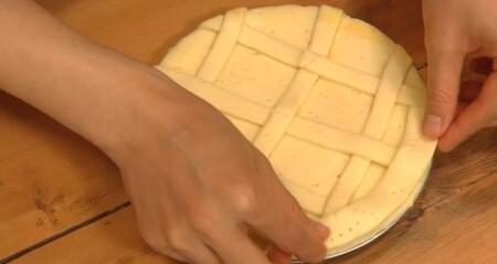 グレーテルのかまど 名探偵コナンのレモンパイレシピの作り方 縁を付ける