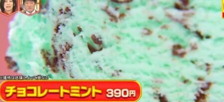 林修のニッポンドリル サーティワンの人気メニューランキングベスト10 第6位チョコレートミント