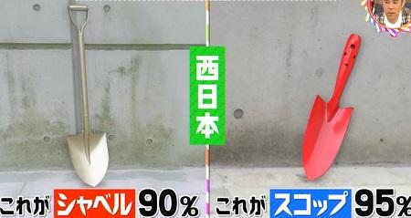 シャベルとスコップの違いは?関西と関東で使い分ける?関西、西日本では大きいのがシャベルで小さいのがスコップ チコちゃんに叱られる