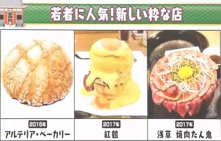マツコの知らない世界 浅草グルメの世界で話題になった店一覧 最新グルメ3選