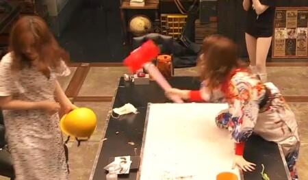 女子メンタル2 菊地亜美vsファーストサマーウイカ ガチ喧嘩叩いてかぶってジャンケンポンが面白い ウイカの追撃