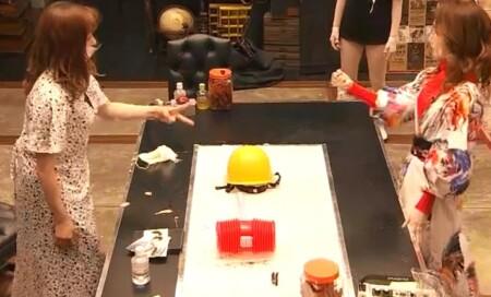 女子メンタル2 菊地亜美vsファーストサマーウイカ ガチ喧嘩叩いてかぶってジャンケンポンが面白い ジャンケン3回目