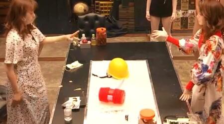 女子メンタル2 菊地亜美vsファーストサマーウイカ ガチ喧嘩叩いてかぶってジャンケンポンが面白い ジャンケン4回目