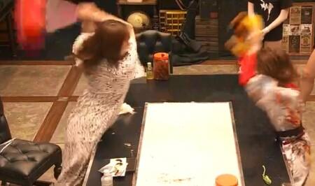 女子メンタル2 菊地亜美vsファーストサマーウイカ ガチ喧嘩叩いてかぶってジャンケンポンが面白い 振りかぶる菊地亜美